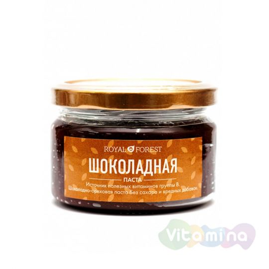 Натуральная шоколадная паста, 200 гр