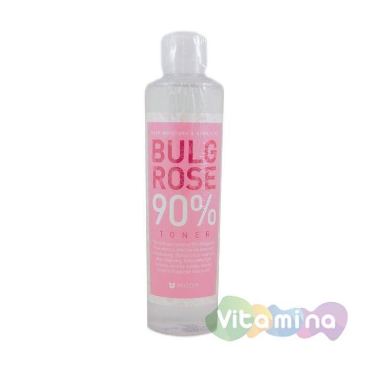 Тоник с экстрактом болгарской розы 90% - Mizon Bulg rose 90% Toner