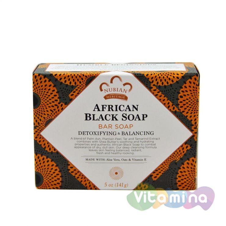 Африканское черное мыло, 140 г