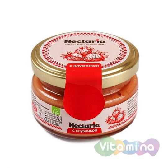 Взбитый мёд с клубникой