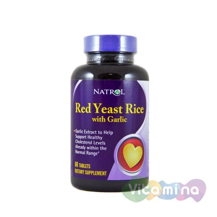 Natrol Красный дрожжевой рис, 60 таб