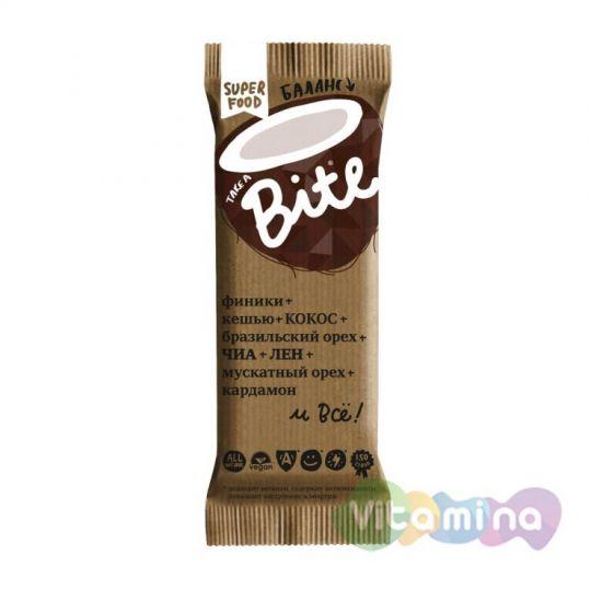 Батончик Bite Баланс, Кокос-Бразильский орех