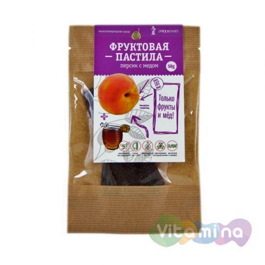 Фруктовая пастила Персик с мёдом, 50 г