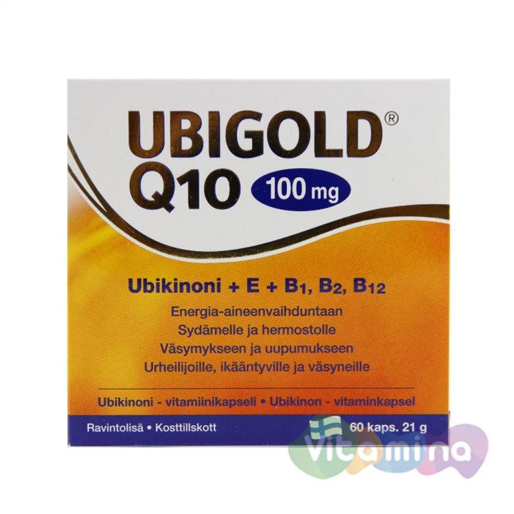 Убиголд Q10 / Ubigold Q10, 100 мг