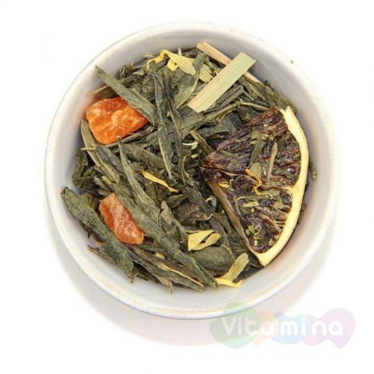 Зеленый чай с лимоном, 100г