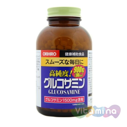 Orihiro Глюкозамин с Хондроитином, табл.