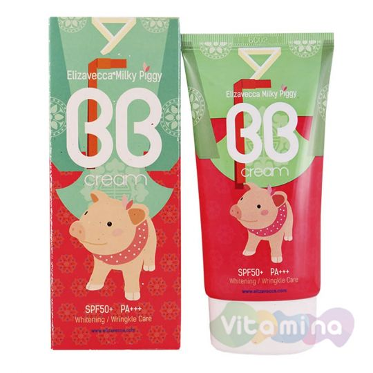 Elizavecca Milky Piggy BB Cream ББ крем, 50 мл