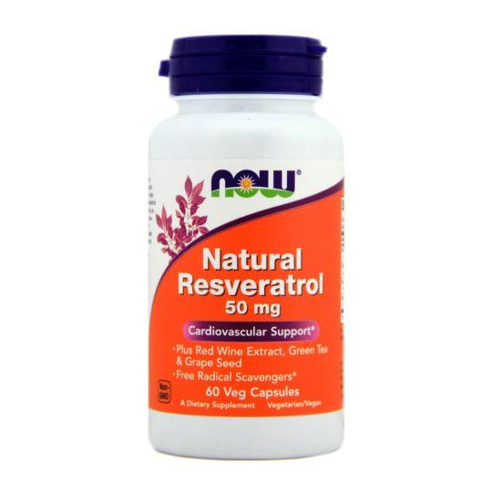 Natural Resveratrol Ресвератрол 60 капс. (Резвератрол)