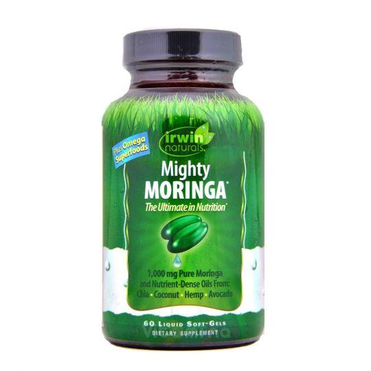 Mighty Moringa Моринга, 60 капсул.